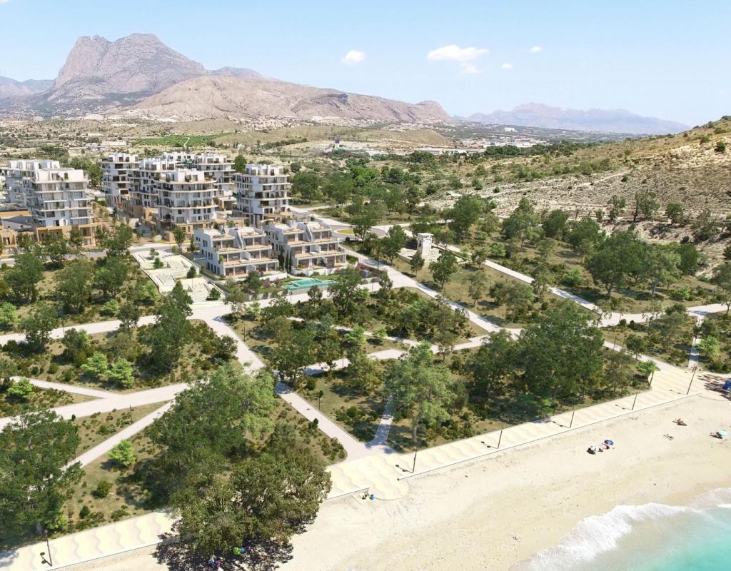 NC0044AL : Элитные апартаменты на 1й линии моря, Вильяхойоса