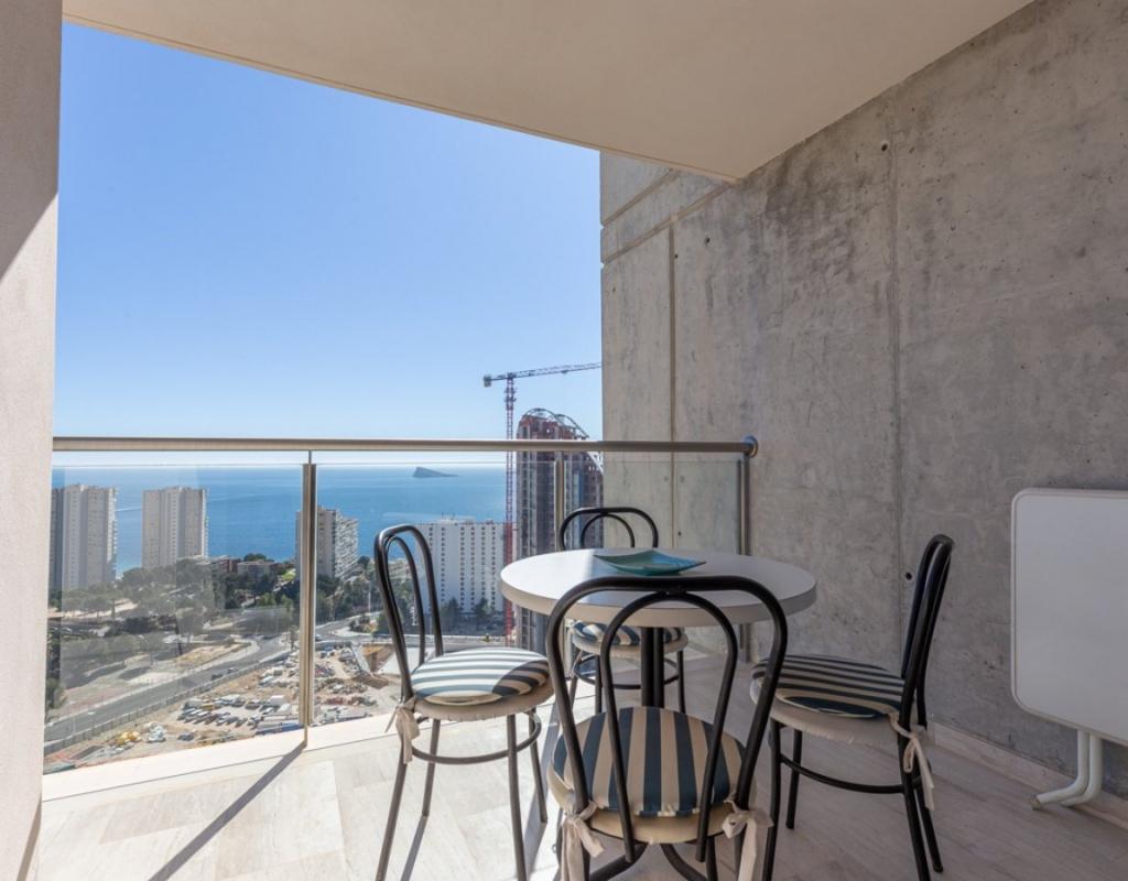 RV0082VH : Квартира в Бенидорме, Пониенте, с видом на море