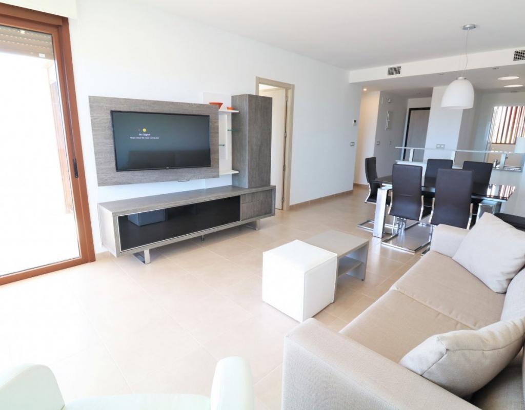 RV0131PR-D : Квартира с бассейном, кладовой, Кампоамор,Ориуэла Коста