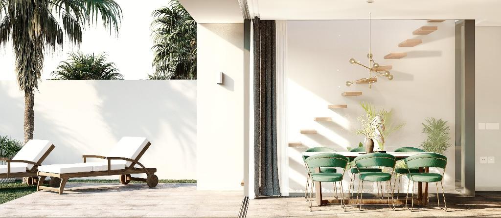 NC1792CO : Новые виллы с частным бассейном и садом в Ла Манга