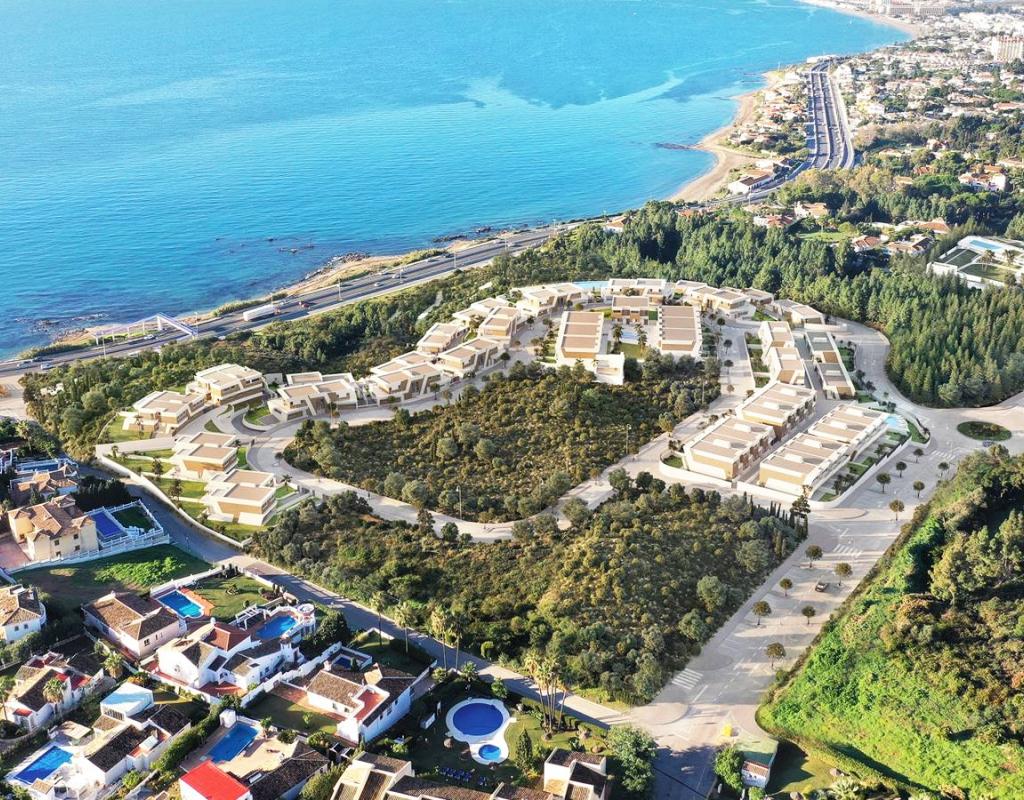 NC1024KH : Новый Таунхаус с видом на море, Марбелья