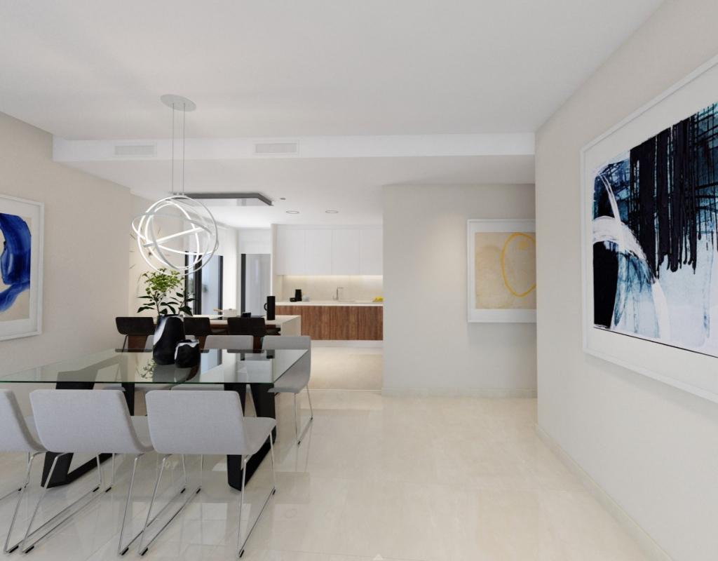 NC7832TM : Апартаменты с видом на море в 100 метрах от пляжа Бенидорм