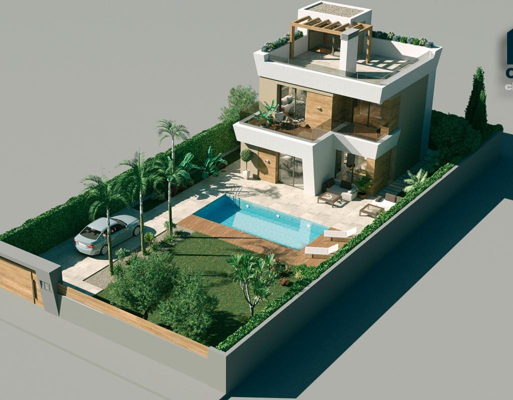 NC0083CB : Вилла с видом на море Сьюдад Кесада, Ciudad Quesada