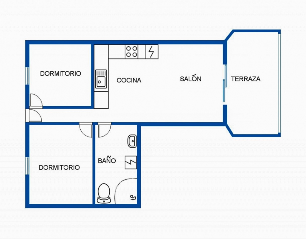 RV0196HA : Квартира в 50 м от пляжа Торревьеха, Кабо Сервера