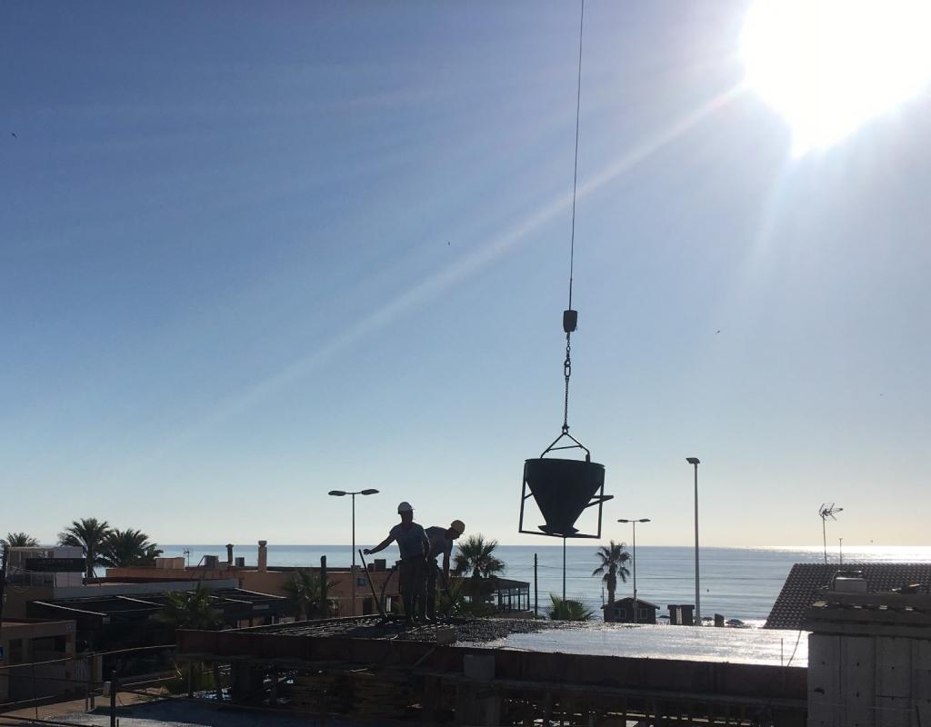 NC3384CE : Новая вилла с  видом на море Ла Мата, Торревьеха