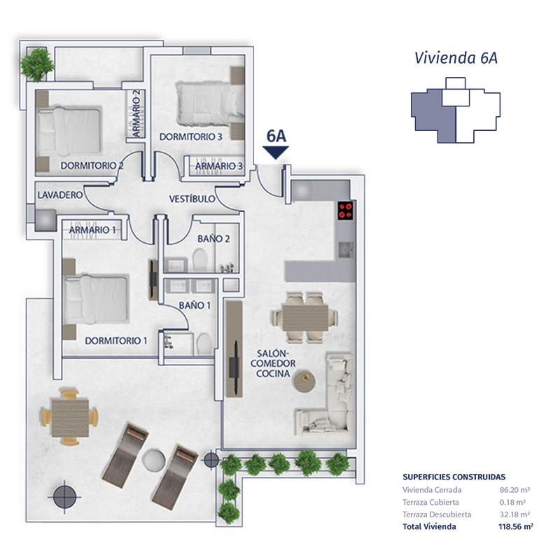 NC0313EH : Новая квартира рядом с пляжем в Кальпе
