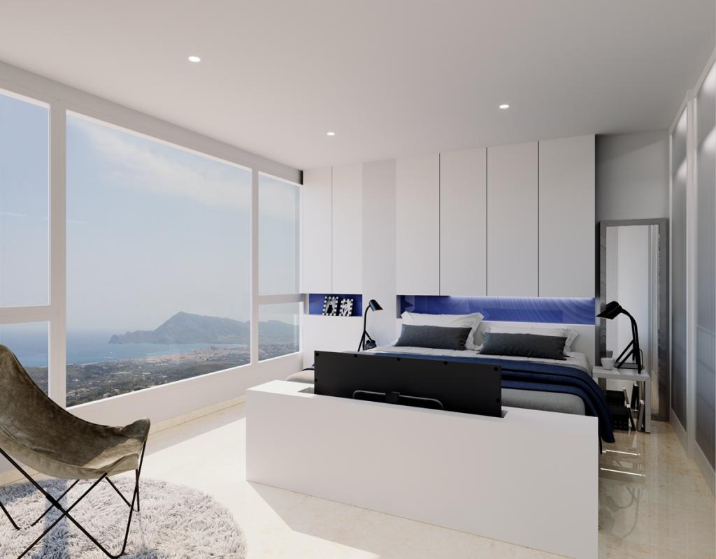 NC2679AL : Красивая вилла с видом на море в Альтеа