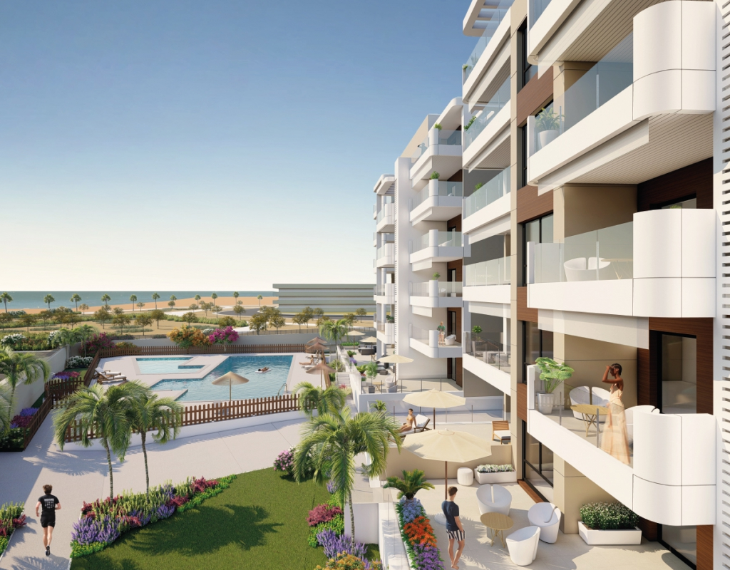 NC1588VP-D : Новые квартиры у моря в Ориуэла Коста