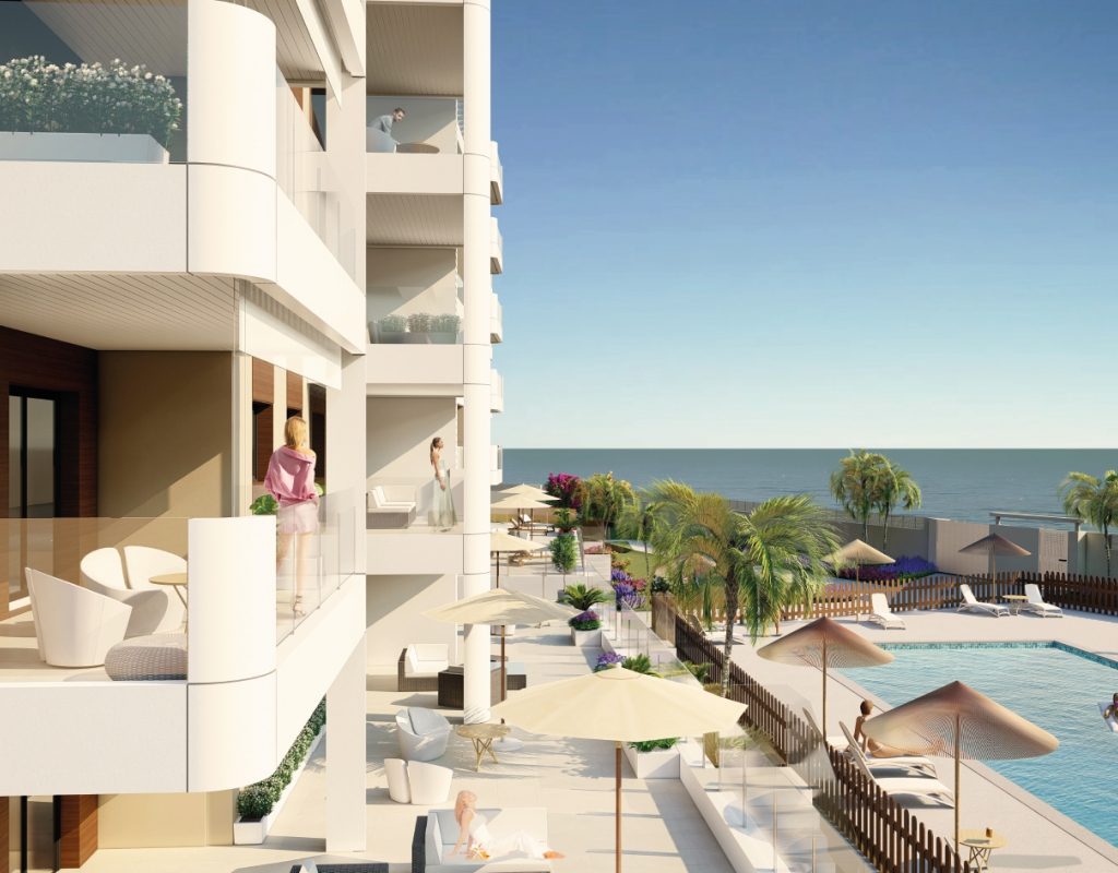 NC1589VP-D : Новые квартиры в Ориуэла Коста, Миль Пальмерас
