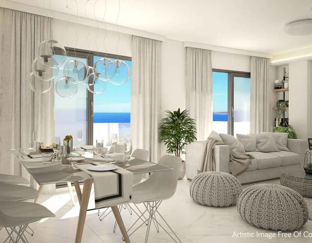 NC2513EU : Апартаменты в 250 метрах от пляжа в Гуардамар дель Сегура
