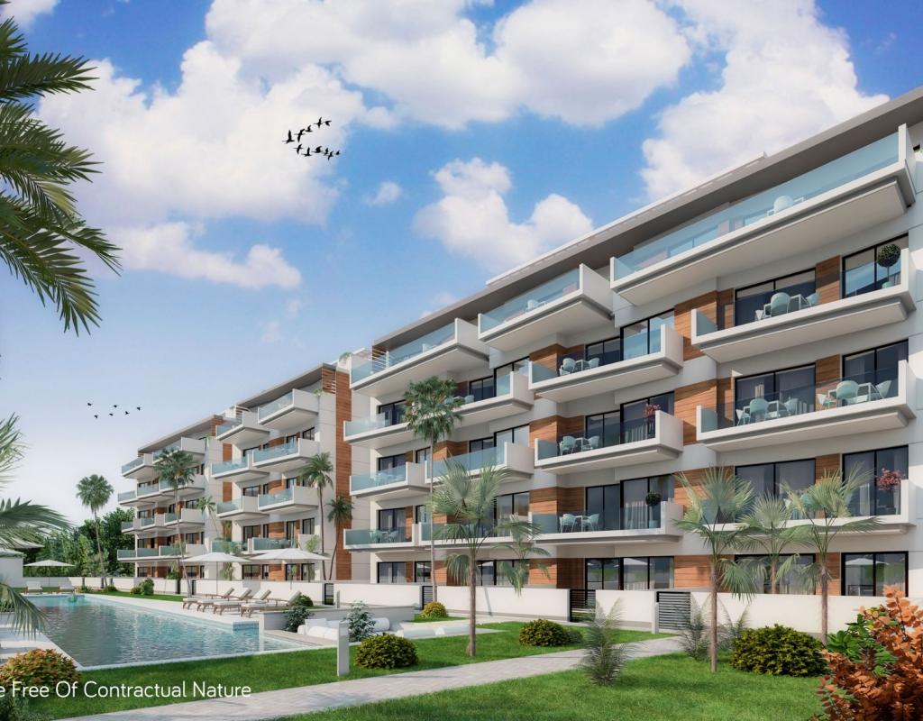 NC2514EU : Апартаменты в 250 метрах от пляжа в Гуардамар дель Сегура