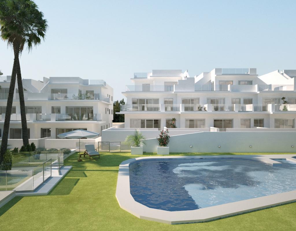 NC1781IB : Новые  Апартаменты в Ареналес-дель-Соль (Гран Алакант)