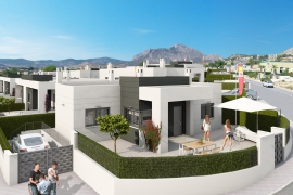 Продажа таунхаус в провинции Costa Blanca North, Испания: 3 спальни, 108 м2, № NC1216TM – фото 2