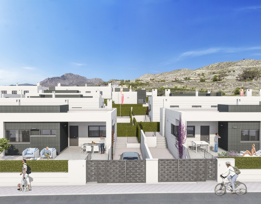 NC1216TM : Таунхаус в Бусот, Аликанте-Alicante