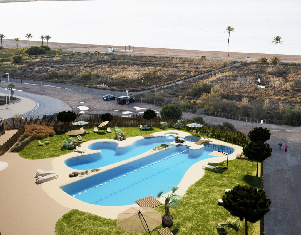 NC1350UR : Квартиры на первой линии пляжа в Ла-Манга-дель-Мар-Менор, Коста Бланка Юг