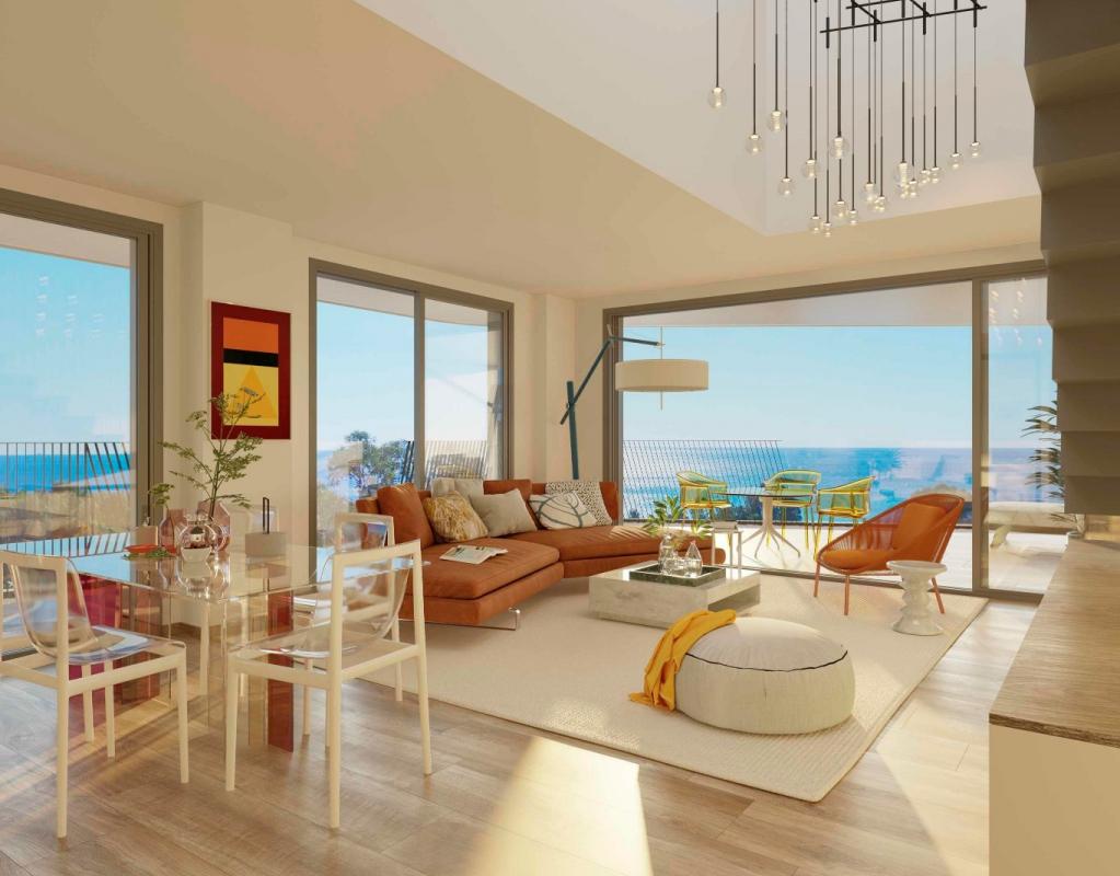 NC5652AL : Новый жилой комплекс  на первой линии моря в Вильяхойосе с потрясающим видом на море
