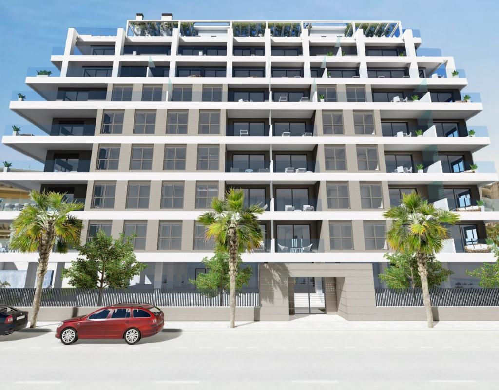 NC1980SO : Квартиры рядом с пляжем в Кальпе
