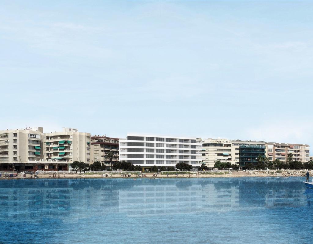 NC1390SA : Квартиры на первой линии моря в Торревьехе, Коста Бланка Юг