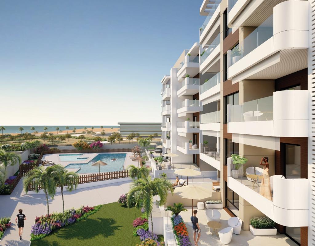 NC1587VP : Новые квартиры в Ориуэла Коста, Миль Пальмерас