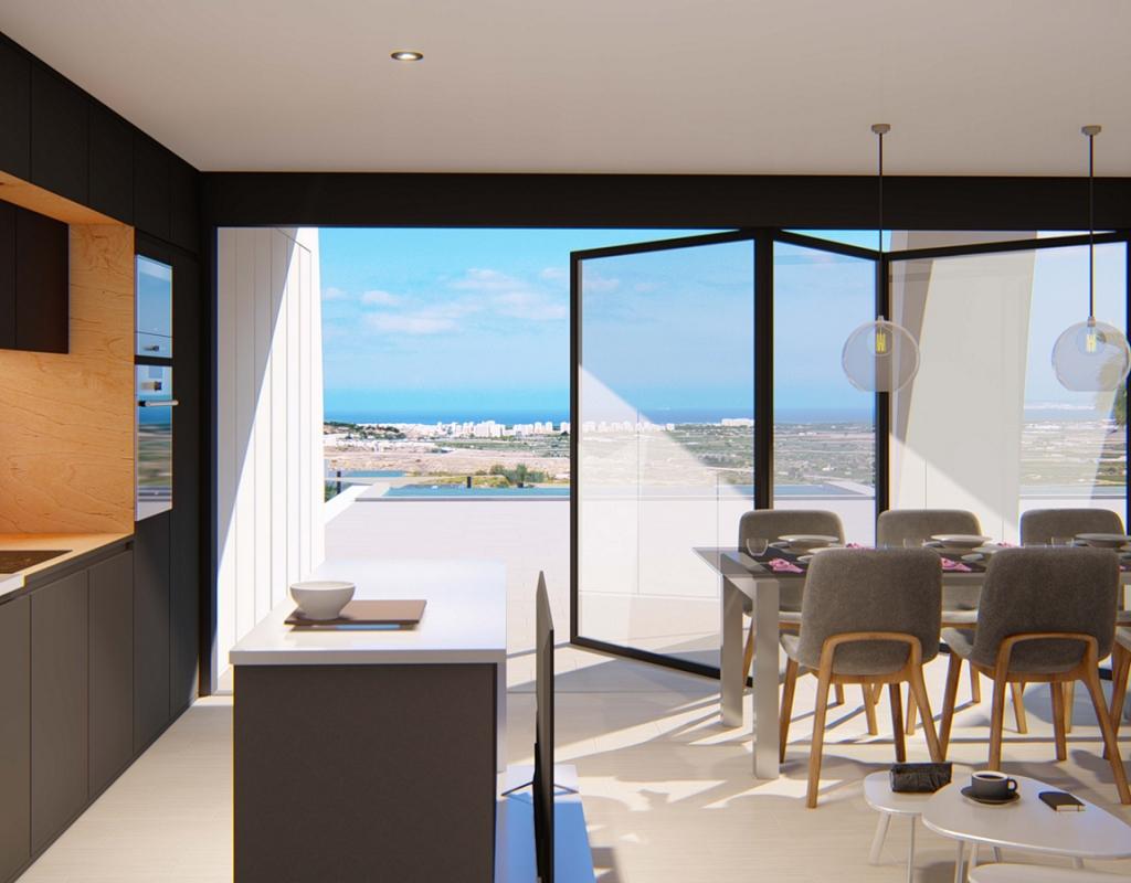 NC1850BH : Роскошные апартаменты в современном стиле в Сьюдад Кесада