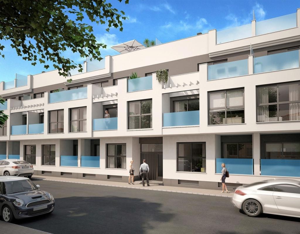 NC1882AM : Новые квартиры в центре Торревьеха