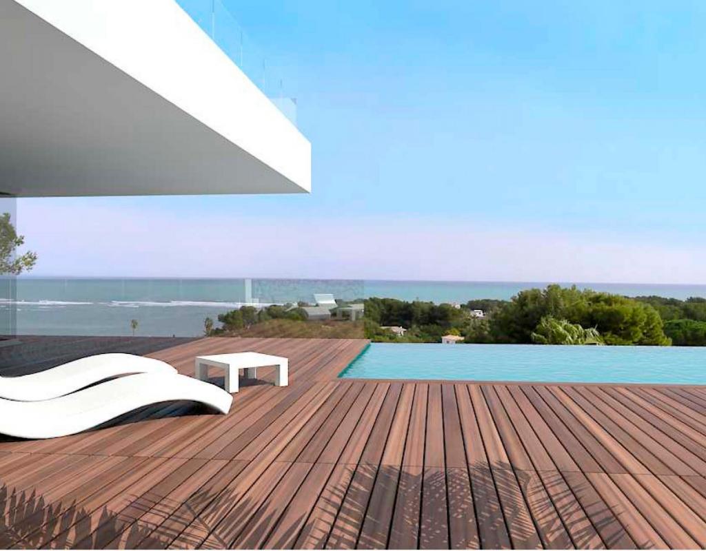 NC2300CO : Вилла с видом на море в Дения, Denia
