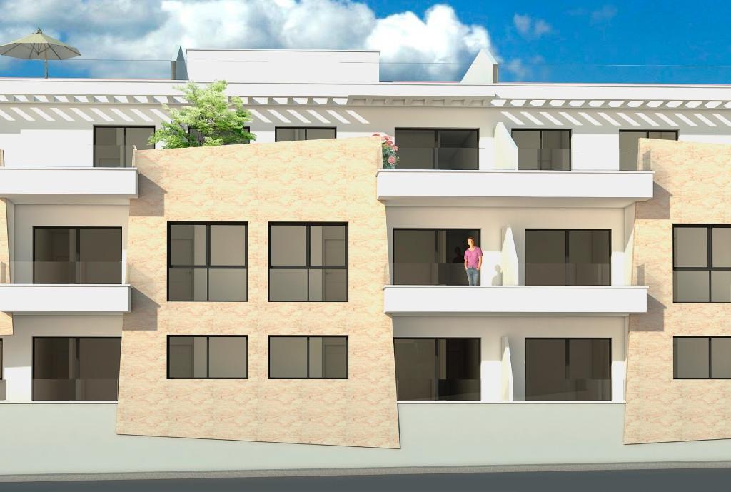 NC1972NA : Новые апартаменты с террасой в Ориуэла Коста