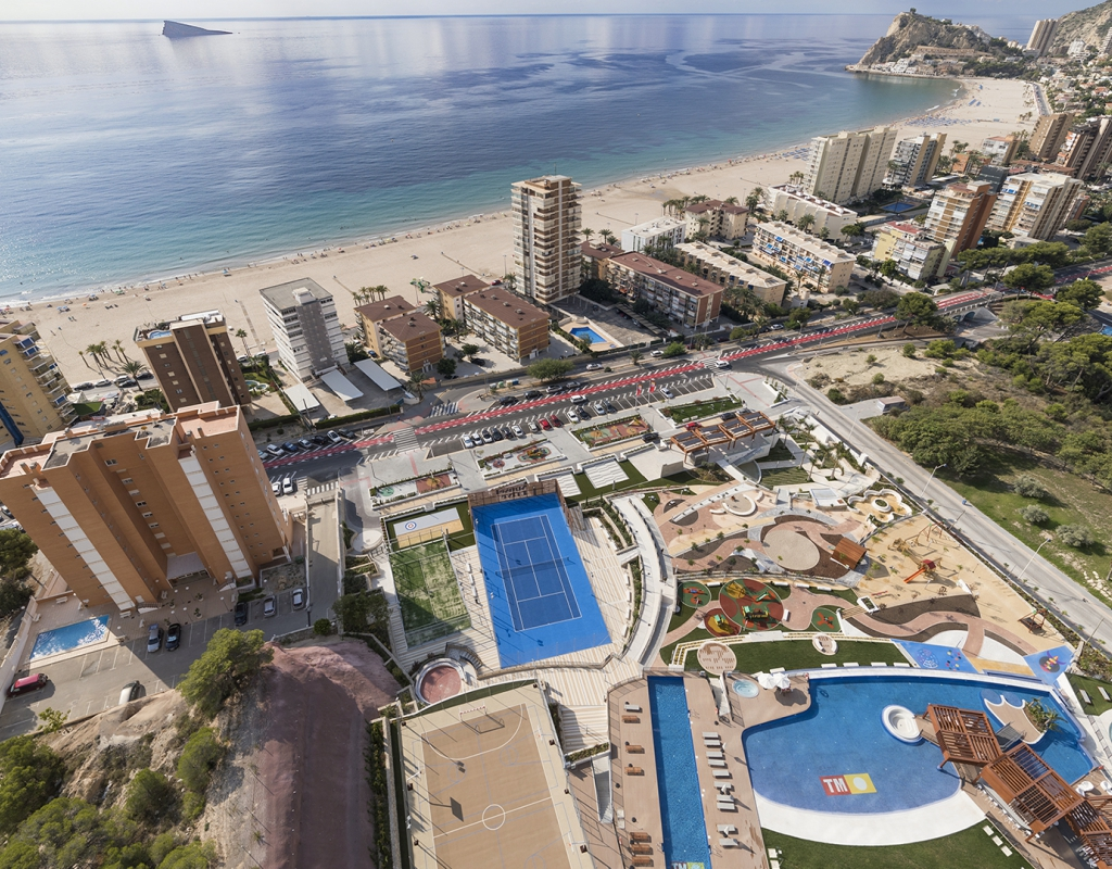 NC7835TM : Новые эксклюзивные апартаменты с видом на море, Бенидорм