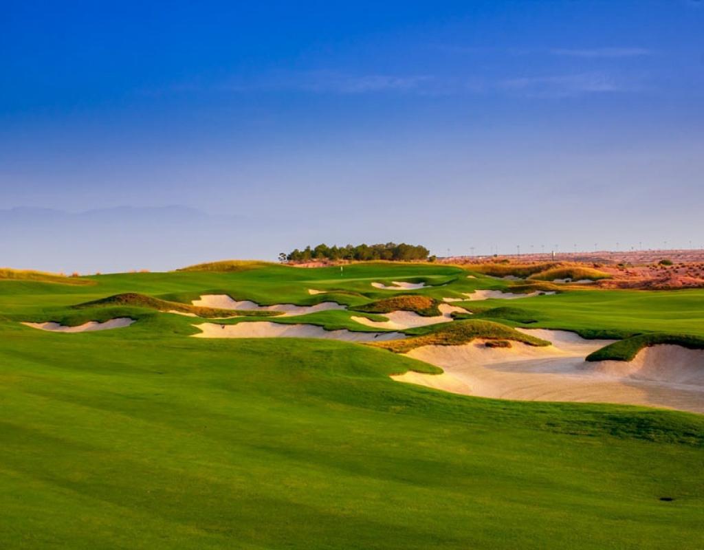 NC3763OI : Aпартаменты на первой линии гольф-курорта, Алама-де-Мурсия