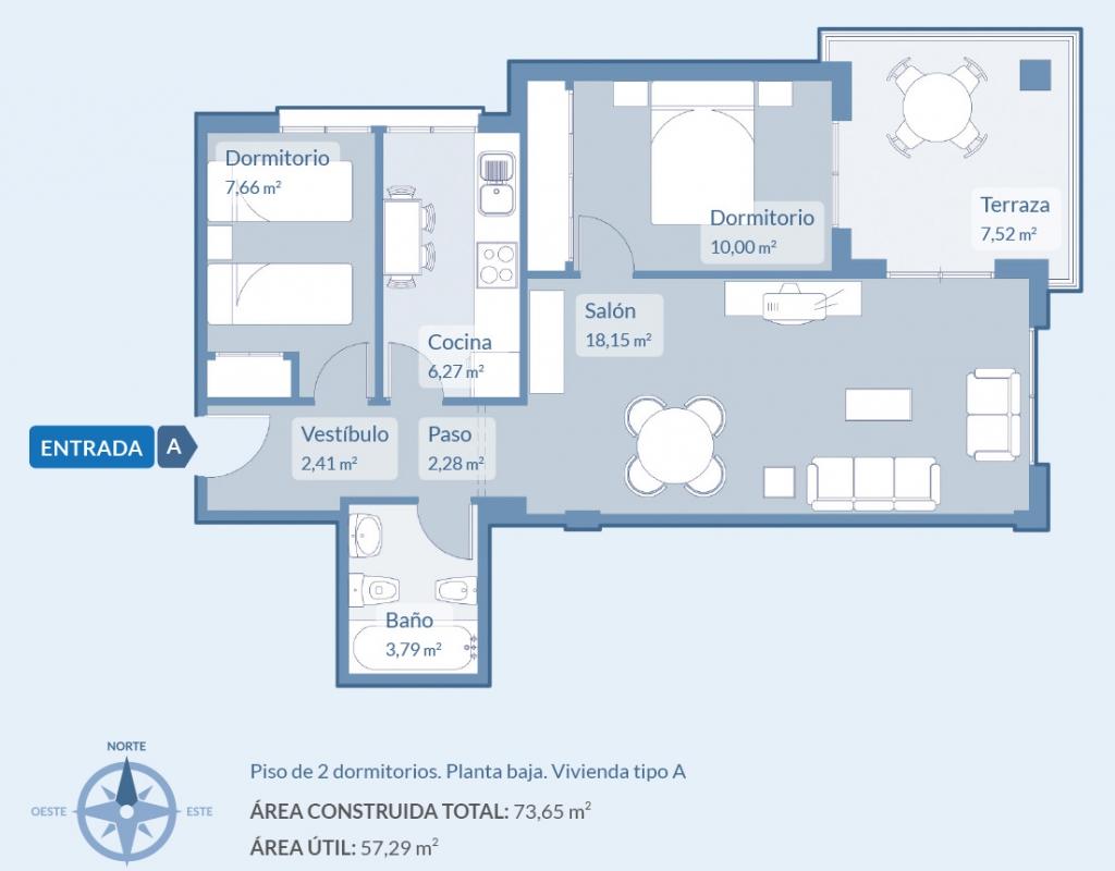 NC3472MO-D : Новые эксклюзивные Квартиры в Кампоамор
