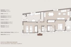 Продажа апартаментов в провинции Costa Blanca South, Испания: 4 спальни, 150 м2, № NC3476MO – фото 14