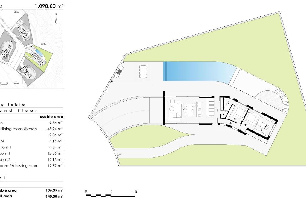 NC0042PP : Эксклюзивные виллы возле Гольф полей, Кампоамор