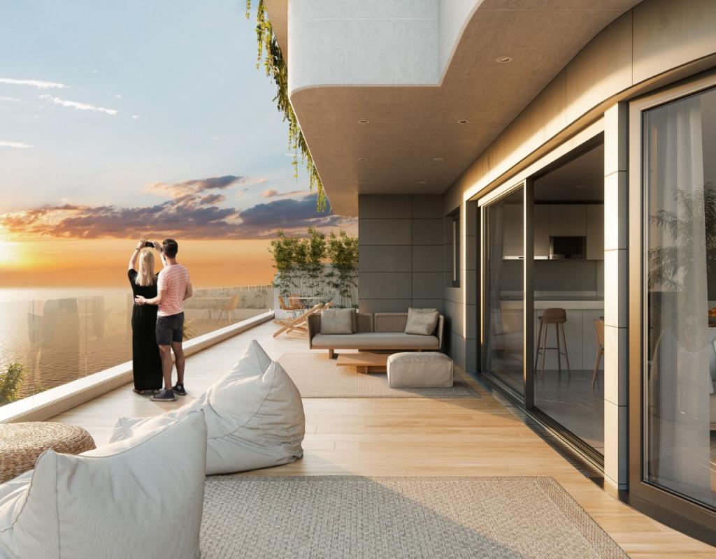 NC0065QU : Квартиры с захватывающими террасами с видом на горы, Агилас, Мурсия