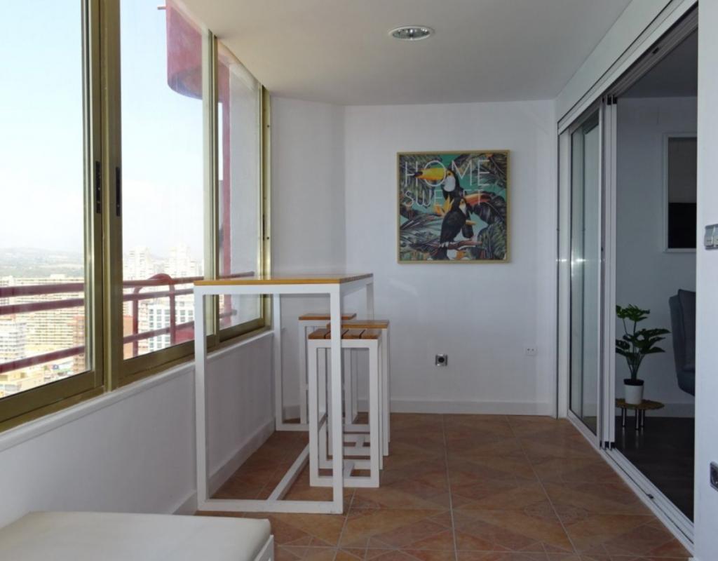 RV0006EU : Квартира с прекрасным видом на море и Бенидорм