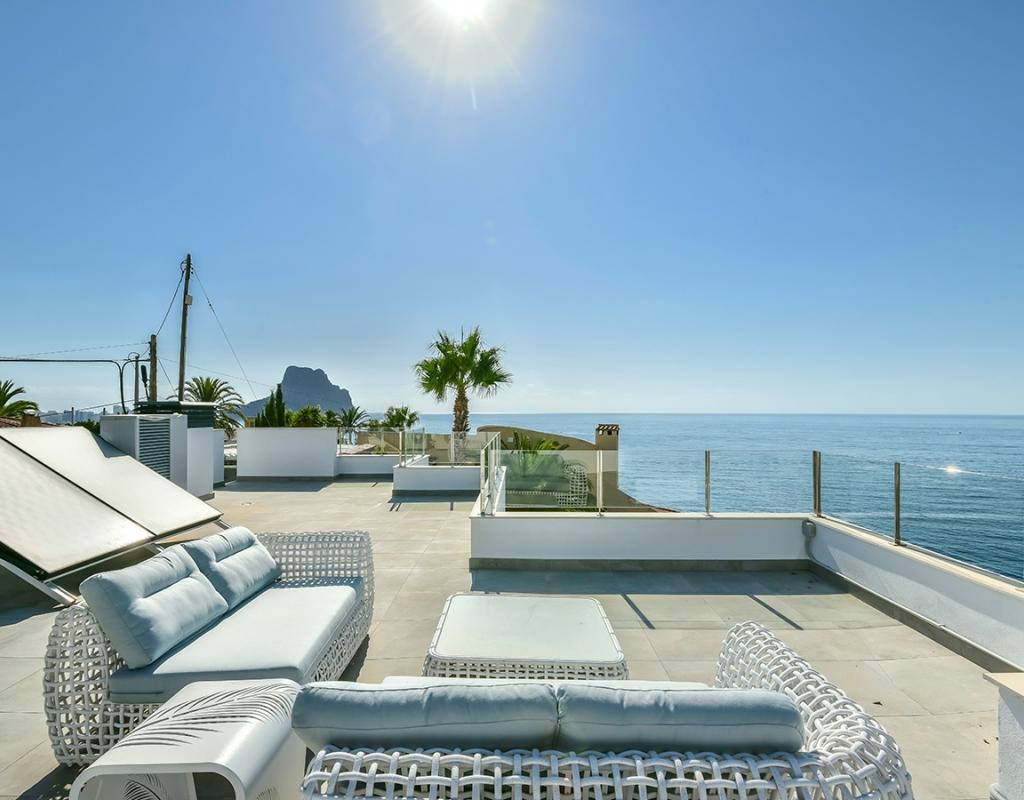 NC1127SE : Вилла с видом на море в Кальпе