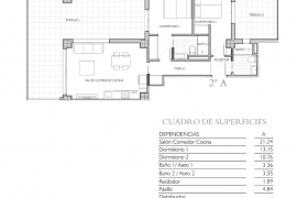 Продажа апартаментов в провинции Costa Blanca North, Испания: 2 спальни, 120 м2, № NC1980SO – фото 17