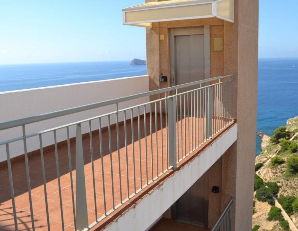 RV0076EU : Дуплекс с большой террасой с невероятным видом на море, Бенидорм