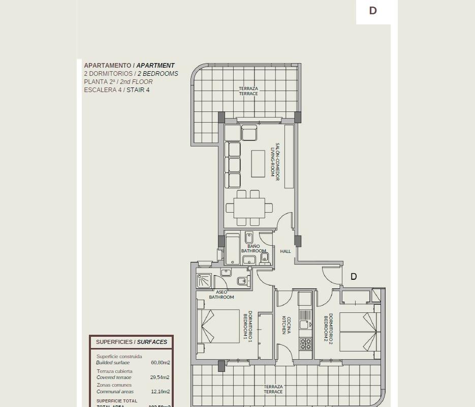NC1151GE : Квартира на первой линии пляжа Леванте в Кальпе