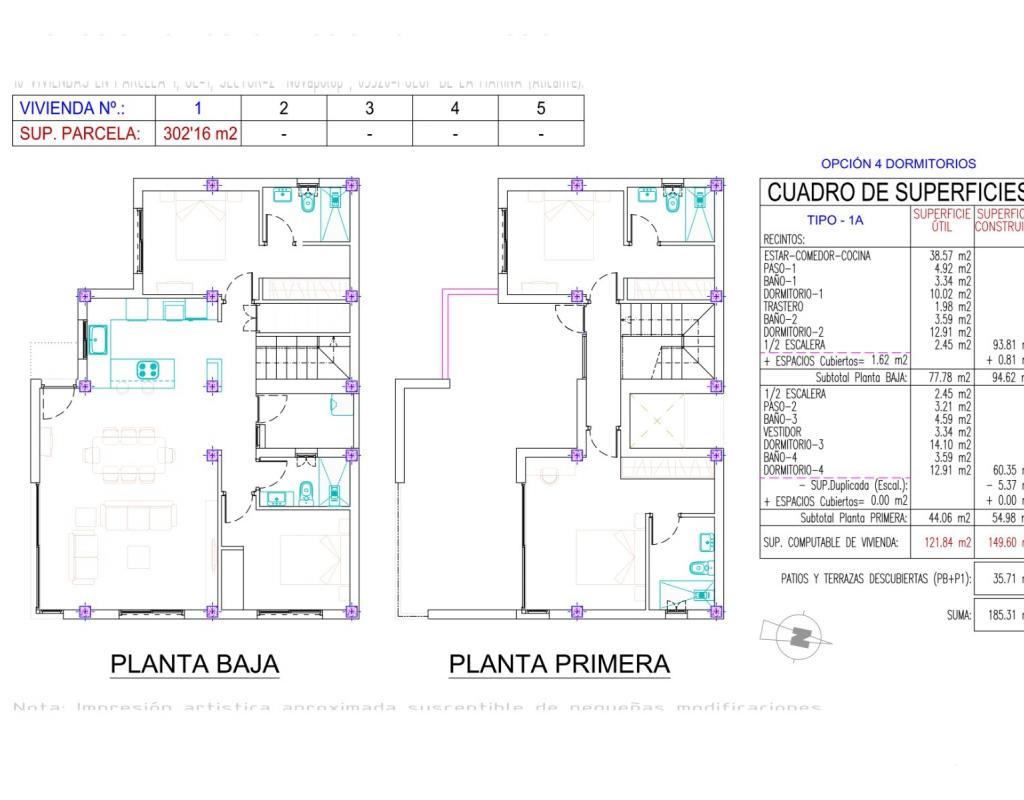 NC2521WP : Новая современная вилла в Полоп, Коста Бланка Север
