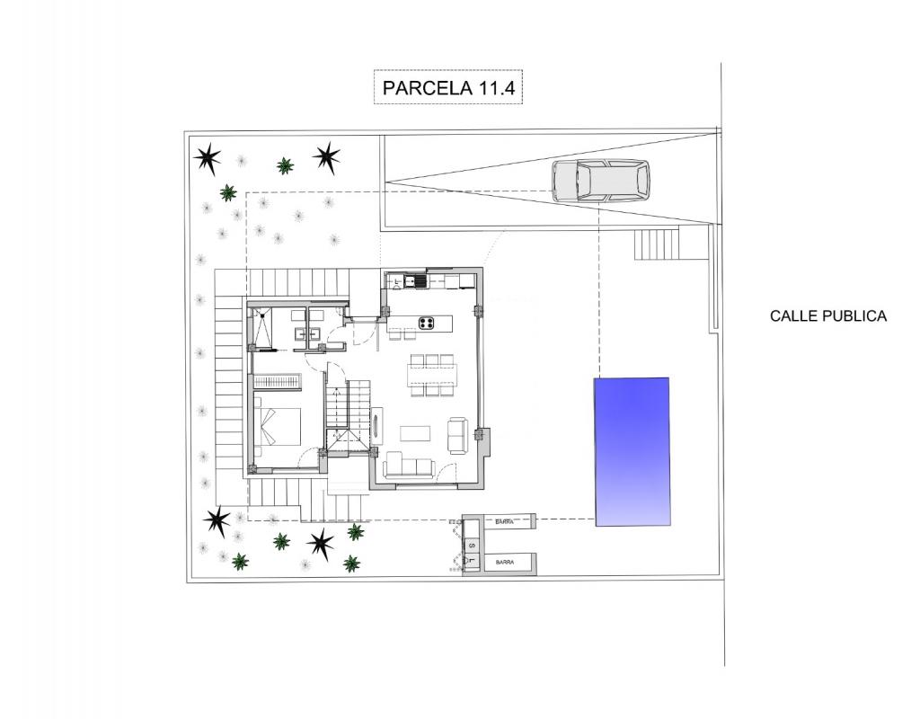 NC2522WP : Новая современная вилла в Полоп, Коста Бланка Север