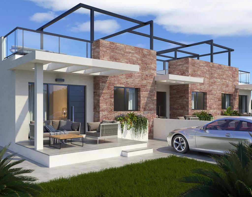 NC3512VP : Новое Бунгало с 2 спальнями в Сан-Педро-дель-Пинатар