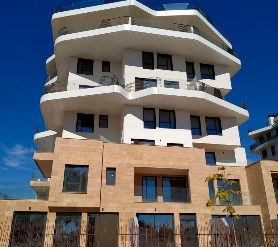 NC5653AL : Новый жилой комплекс на первой линии моря в Вильяхойосе с потрясающим видом на море