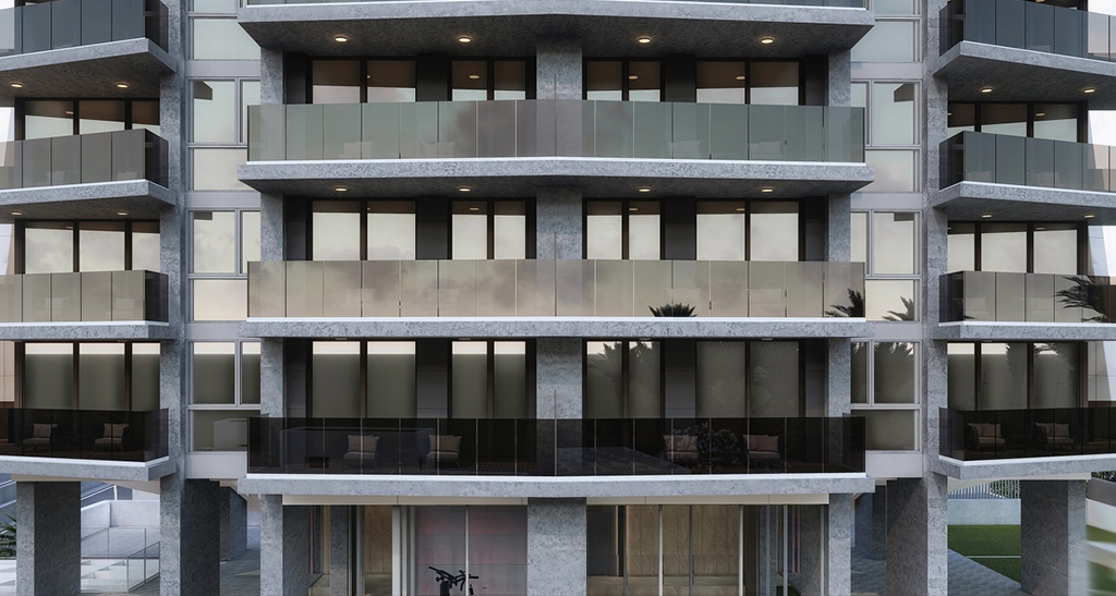 NC0029CA : Квартиры в новом дизайнерском здании возле пляжа  в Бенидорме