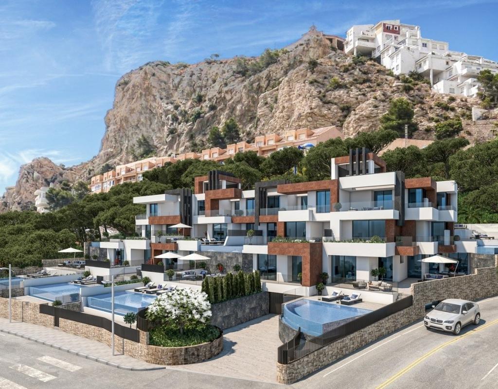 NC4221GT : Новые апартаменты на первой линии пляжа Бенидорм