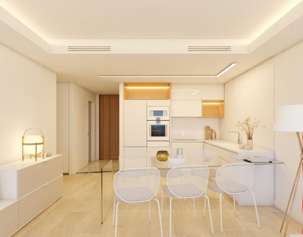 NC0335VA : Новые апартаменты с видом на поле для гольфа в Дении