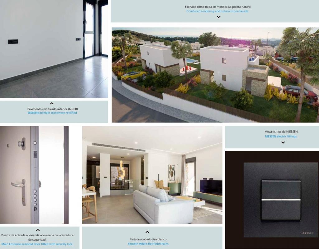 NC0400PA : Современная новая вилла Бенидорм- Balcón de Finestrat