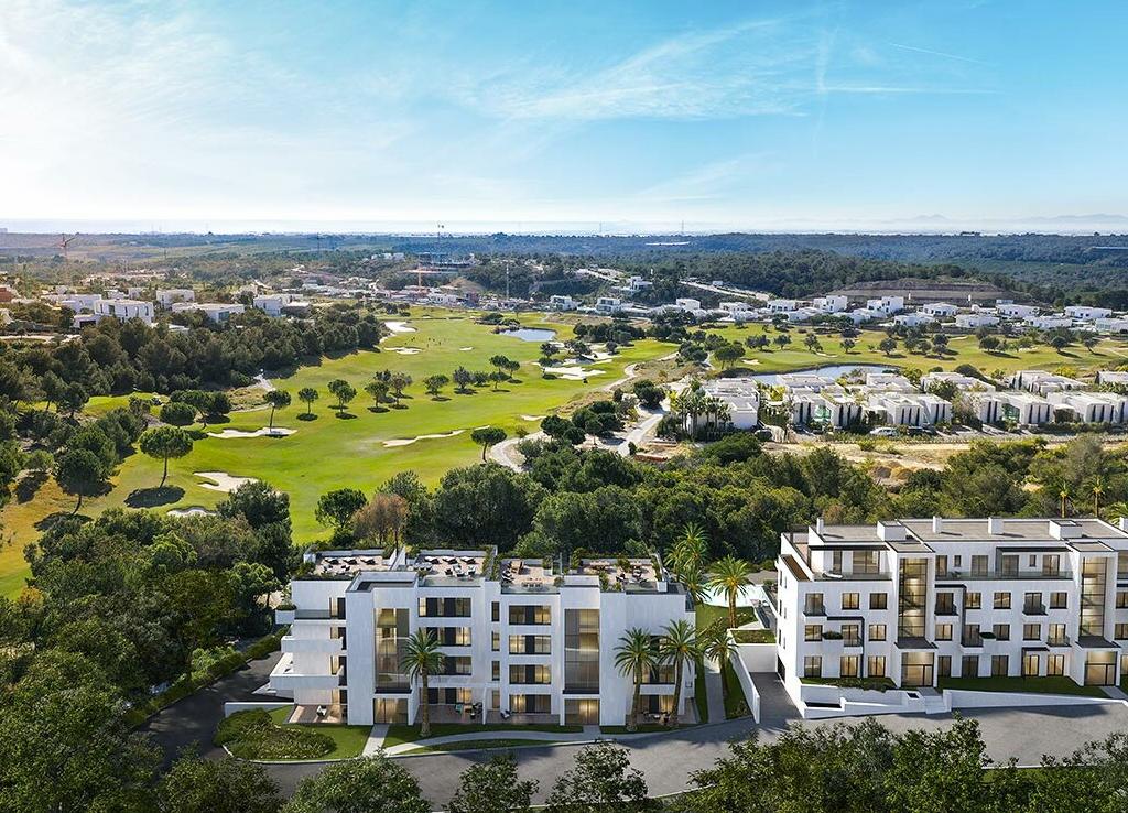 NC2653GE : Роскошные апартаменты на гольф-поле Las Colinas