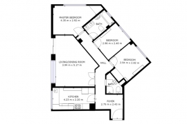 Продажа апартаментов в провинции Costa Blanca South, Испания: 3 спальни, 80 м2, № RV0209CA – фото 22